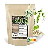 nur.fit BIO Erbsenprotein-Pulver 1kg - natürliches veganes Proteinpulver mit 80% Proteingehalt – vegan Protein in zertifizierter BIO-Qualität mit essenziellen Aminosäuren