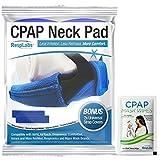 RespLabs CPAP Nackenpolster - Universal Fit mit 2 CPAP-Bügel-Covers - Wiederverwendbare, Druckminderer, Komfort zu erhöhen. Weiche, Waschbare, Atmungsaktive Stoffwickel