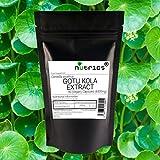 Nutrics® 6500mg GOTU KOLA Extrakt   180V Kapseln (6 Monatsvorrat)   Hergestellt in Großbritannien von Nutrics Laboratories   Geeignet für Vegan, Vegetarier, Halal Koscher