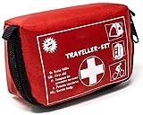 Selldorado® 32-teiliges Erste-Hilfe-Set Traveller - Notfallkoffer ideal für Outdoor, Fahrrad Camping, Reisen, Sport - Hausapotheke - mit praktischer Gürtelschlaufe (1 Stück)