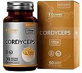 GH Cordyceps 650mg | Cordyceps Sinensis Extrakt | 90 Vegane Cordyceps Kapseln Hochdosiert | Hergestellt in ISO-Zertifizierten Betrieben | Gentechnik-, Milch- & Glutenfrei