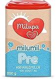Milupa Milumil Pre Babynahrung, Anfangsmilch von Geburt an, Baby-Milchpulver, (1 x 800 g)