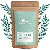 Detox Tee Lose | Entwässerungstee | 100grs (60 Tage) | Detox Tee Zum Abnehmen | Entschlackungstee | Entgiftungstee | Premium-Zutaten Grüner Tee, Yerba Mate, Weißer Tee, Brennnessel, Moringa ...