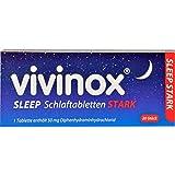 Vivinox Sleep Schlaftabletten stark, 20 St