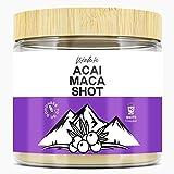 ACAI MACA Shot Energy Drink - Trinkpulver - 40 Shots (Portionen) - Hochdosiert - Superfood Drink - Nachhaltig