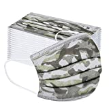 riou 50 Stück Kinder Mund und Nasenschutz Vliesstoff Atmungsaktive Mundschutz Halstuch für Jungen und Mädchen