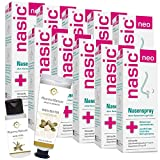 nasic neo Nasenspray mit dem Wirkplus | Sparset mit 10 x 10 ml inkl. Handcreme oder Duschbad von Pharma Nature | Abschwellendes & wundheilungsförderndes Schnupfenspray für Erwachsene & Schulkinder