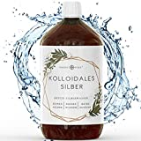 Kolloidales Silber - 100% natürliches Silberwasser mit 100 ppm (1000ml)