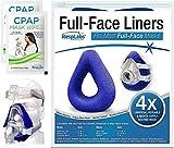 RespLabs CPAP-Vollmaske Abdeckung, Wiederverwendbare und Universelle weiche Fleecehülle, 4er-Pack