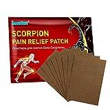 Exuberia 8 PCS Pain Relief Patch Knee Wärmepflaster Nacken Schmerzlinderung Patch Nackenpflaster Schmerzpflaster Für Rückenschmerzen, Schulter, Gelenkschmerzen, Muskelschmerzen, Bandscheibenvorfall