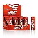 10x NUTREND Gutar Energy Shot | 60ml je Behälter (insg. 600ml) | Extrakt aus Ginseng, Vitamin B6, Taurin, Extrakt aus Guarana, L-Carnitin, L-Arginin | Nahrungsergänzungsmittel (10er Pack)