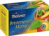 Meßmer Brennnessel-Mango   20 Teebeutel   Vegan   Glutenfrei   Laktosefrei