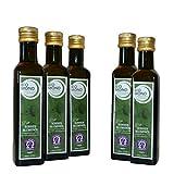 BIO Sonnenblumenöl 5 x 250 ml von BIOMOND / AKTION 3 plus 2 / 2 x 250 ml GRATIS / kalt gepresst / nativ