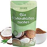 Bio Kokosblütenzucker Monte Nativo 1kg (1000g) - unraffiniert - nährstoffreiche Zuckeralternative - Premium Kokoszucker - Aus kontrolliert biologischem Anbau - Vegan - Frei von Zusatzstoffen