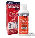 DÉPARAZ-PRO® Crystal Lotion - Gegen Läuse und Nissen - Neue Generation - 100% wirksam - Ohne Kämmen - 100 ml