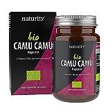 BIO CAMU CAMU, rein natürliches Vitamin C aus der Camu-Camu-Frucht, zur Unterstützung des Immunsystems und des Energiestoffwechsels (90 Kapseln)