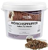 MIGOCKI MÖNCHSPFEFFER – 1,5 kg – Für Pferde – Reine Kräuter ohne Zusatzstoffe – Pellets
