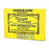 Jakeman's Jackemans Throat & Chest, 24 pastillas (2,8 g c/u)