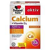 Doppelherz Calcium + Vitamin D3 – Mit Calcium und Vitamin K als Beitrag für den normalen Knochenerhalt – 120 Tabletten