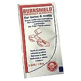 Brandsalbe, Gel zur Schmerzlinderung von Burnshield, für Notfall und Erste Hilfe, 25 Beutel