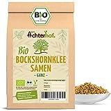 Bockshornklee Samen ganz BIO (500g) | Bockshorn-Tee | Bockshornkleesamen | Ideal als Tee oder Gewürz | Fenugreek Seeds Whole Organic