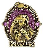 Disney Parks Prinzessin Geburtstags-Geburtsstein Pin – Rapunzel – Februar