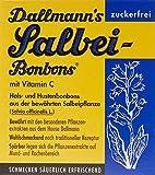Dallmann Salbeibonbons ohne Zucker, 13er Pack (13 x 37 g)