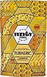 SYZYGY FOOD   Kurkuma mit Ingwer und Schwarzem Pfeffer mit PROBIOTICS   1520 mg   150 Kapseln mit Curcumin ohne Hilfsstoffe   Maximale Absorption für Gelenke und Muskeln   Erweiterte Formel   BIO