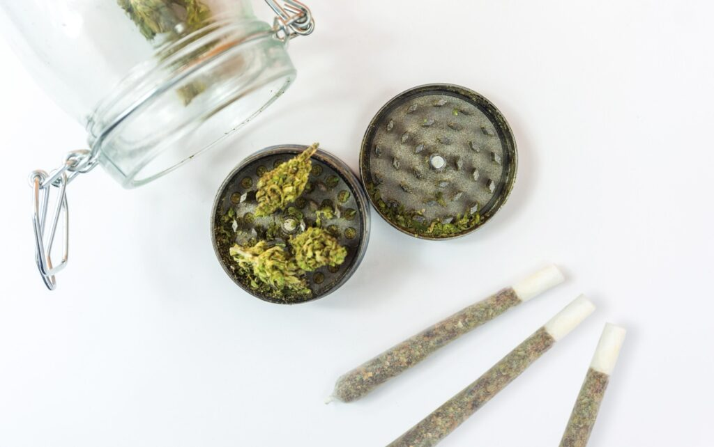 CBD-Blüten-Raucher